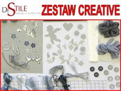 Zestaw Kreatywny - Srebrny Ślub
