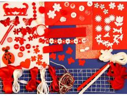 Czerwone Zakochanie - Zestaw Kreatywny