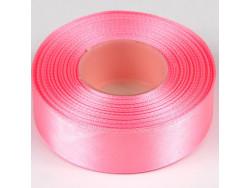 Wstążka satynowa 25mm - różowy