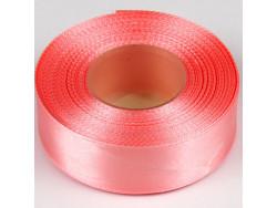 Wstążka satynowa 25mm - różowy jasny brudny