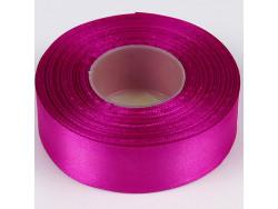 Wstążka satynowa 25mm - różowo-fioletowa