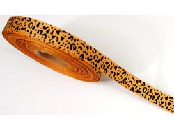 Tasiemka rypsowa panterka 15mm