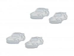 Aplikacje - białe autka