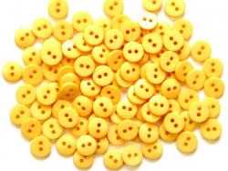 Guziki RETRO żółte - 2 dziurki