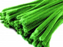 Druty kreatywne, wyciory zielone 10szt.