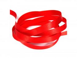 Wstążka satynowa 10mm - czerwona
