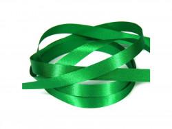 Wstążka satynowa 10mm - zielona