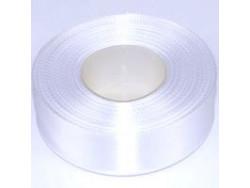 Wstążka satynowa 25mm - biała