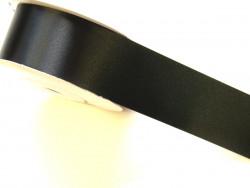Wstążka satynowa 30mm - czarna