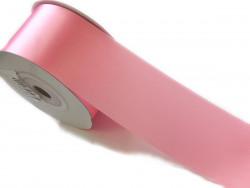Wstążka satynowa 40mm - różowa