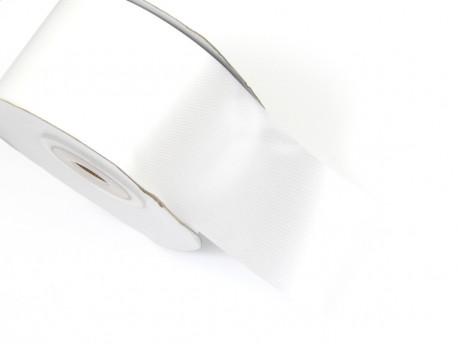 Wstążka satynowa 50mm - biała