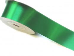 Wstążka satynowa 50mm - zielona