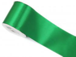 Wstążka satynowa 100mm zielona
