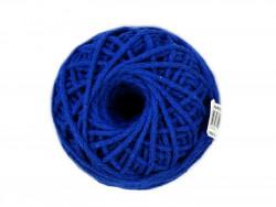 Sznurek Bawełniany 3mm shamballa - niebieski