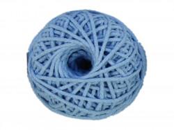 Sznurek bawełniany 3mm błękitny