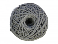 Sznurek bawełniany 3mm szary