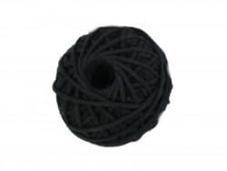 Sznurek bawełniany 2mm czarny