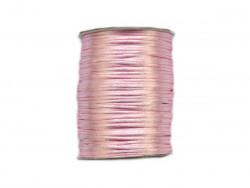Sznurek satynowy 2mm różowy jasny