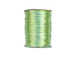 Sznurek satynowy 2mm zielony pistacjowy