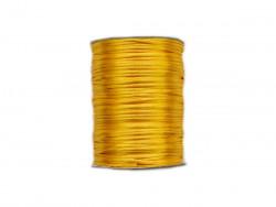 Sznurek satynowy 2mm żółty