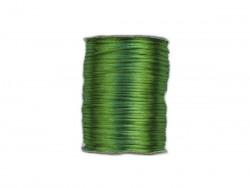 Sznurek satynowy 2mm zielony