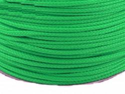 Sznurek poliestrowy 5mm zielony 100m