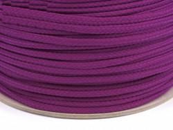 Sznurek poliestrowy 5mm fioletowy ciemny 100m