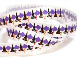 Tasiemka satynowa 15mm czapka czarodzieja