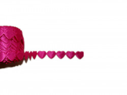 Aplikacje - różowe serca 10szt.