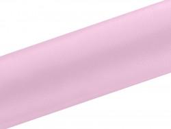 Satyna dekoracyjna 160mm różowa jasna