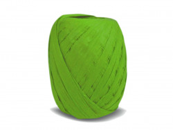 RAFIA papierowa płaska 30m zielona