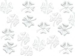 Aplikacje koniczynkiy białe