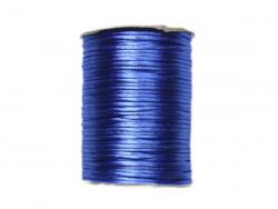 Sznurek satynowy 2mm niebieski modry
