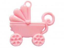 Zawieszka wózek różowy BABY GIRL