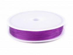Żyłka okrągła elastyczna 0,4-0,6mm fioletowa