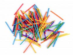 Patyczki kreatywne 5cm mix kolorów 400szt