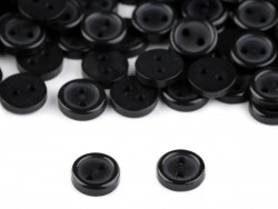 Guziki 7,5mm czarne