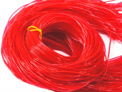 FILOFUN żyłka dekoracyjna do plecionek 25szt czerwona