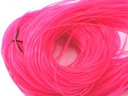 FILOFUN żyłka dekoracyjna do plecionek 25szt różowa
