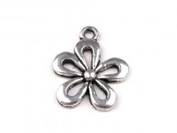 Zawieszka metalowa kwiatek