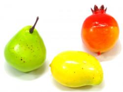 Owoce ozdobne (gruszka granat mango)