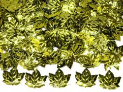 Cekiny liście 21x23mm zielone oliwkowe