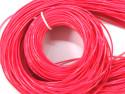 FILOFUN żyłka dekoracyjna do plecionek 25szt różowa ciemna