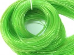 FILOFUN żyłka dekoracyjna do plecionek 25szt zielona odblaskowa