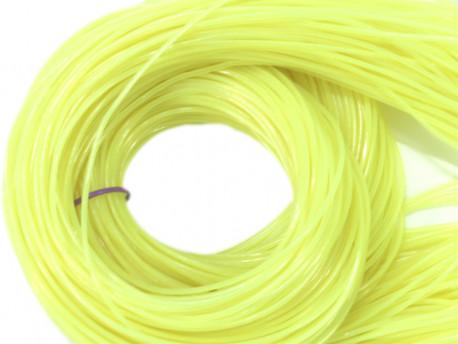 FILOFUN żyłka dekoracyjna do plecionek 25szt żółta odblaskowa