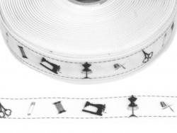 Wstążka rypsowa 20mm krawcowa