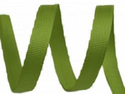 Tasiemka rypsowa 6mm zielona oliwkowa 27,4m