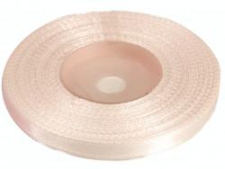 Wstążka satynowa 6mm - różowa blada