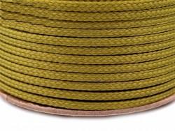 Sznurek poliestrowy 5mm - zielony oliwkowy 100m
