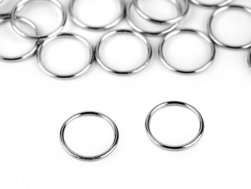 Kołko metalowe 10mm srebrne